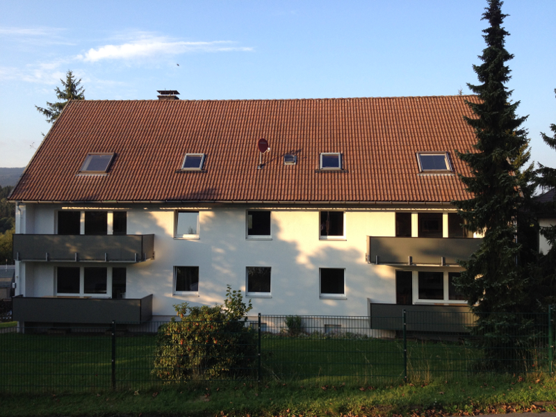 Appartment-Harzidyll-Hausansicht